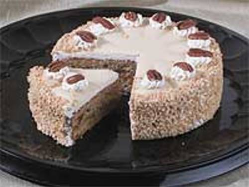 French Nut Cake by www.OldStyleDesserts.com