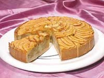 Open Apple Torte